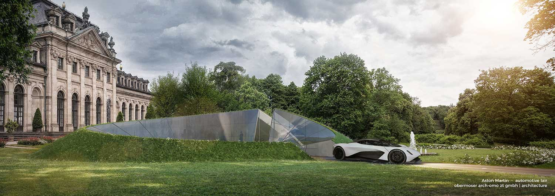 Aston Martin garages