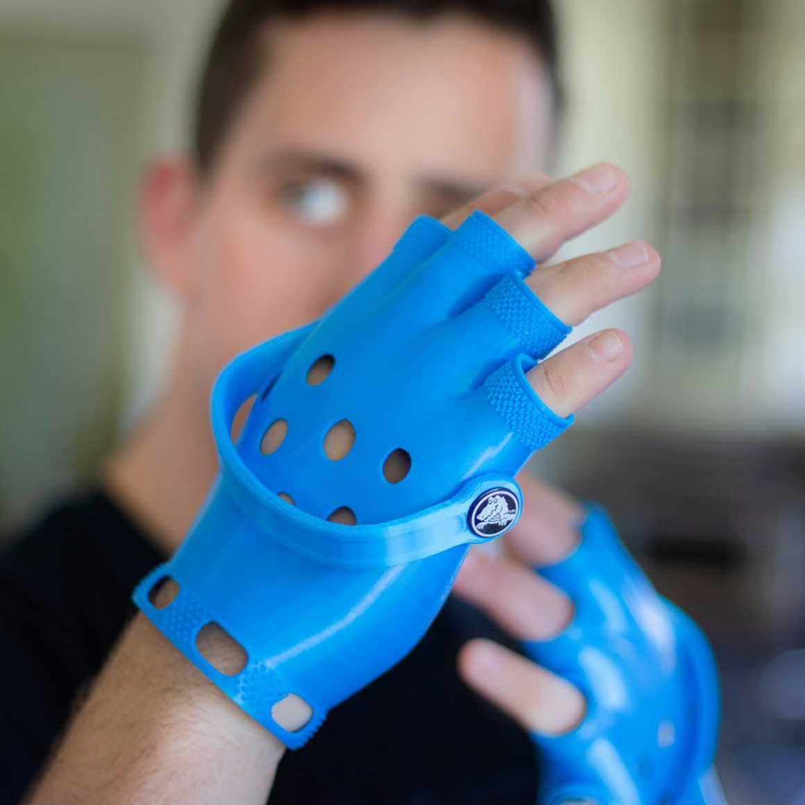Crocs handschoenen