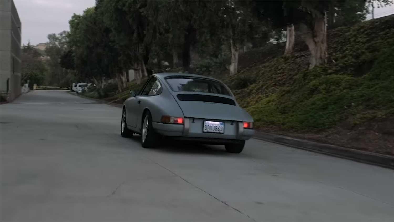 Elektrische klassieke Porsche 912