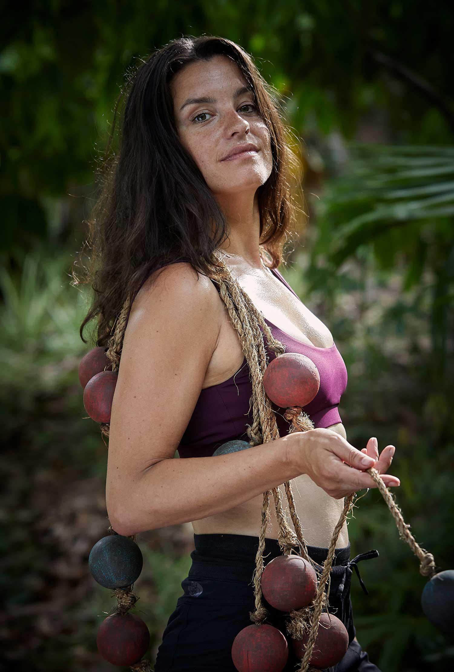 Eva Koreman in Expeditie Robinson