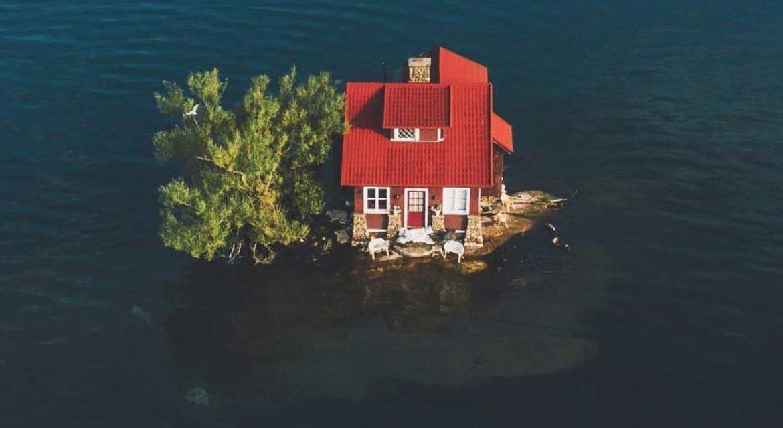 Kleinste bewoonde eiland ter wereld