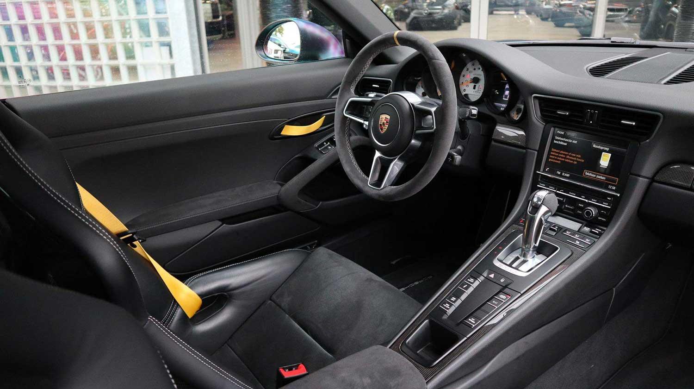 Matzwarte Porsche 911 GT3 RS
