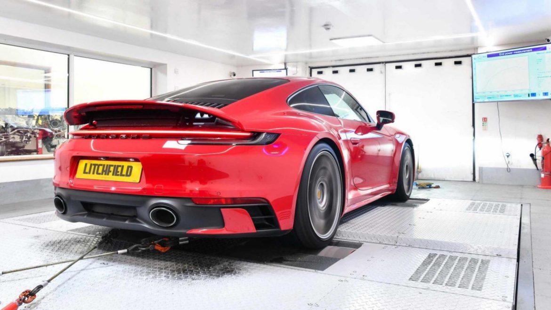 Porsche 911 van Litchfield