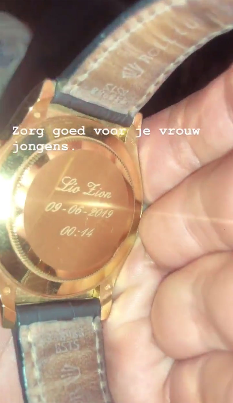 Rolex voor Jaimie Vaes