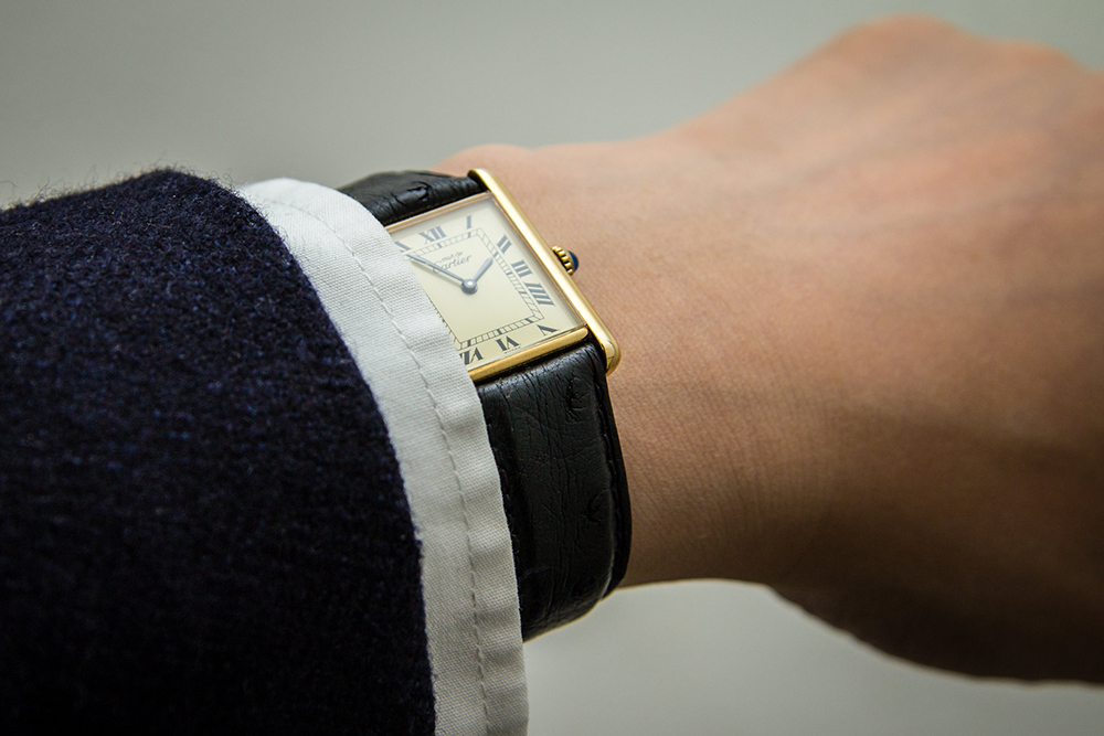 Cartier Tank horloge
