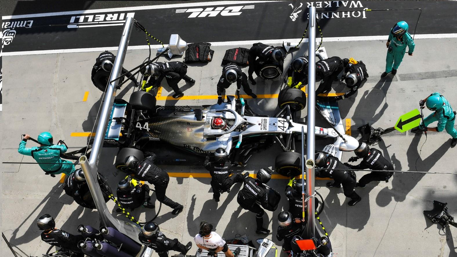 Mercedes Pitstop GP van Hongarije 2019