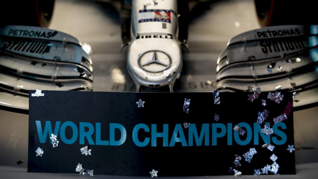 Mercedes Wereldkampioen 2019