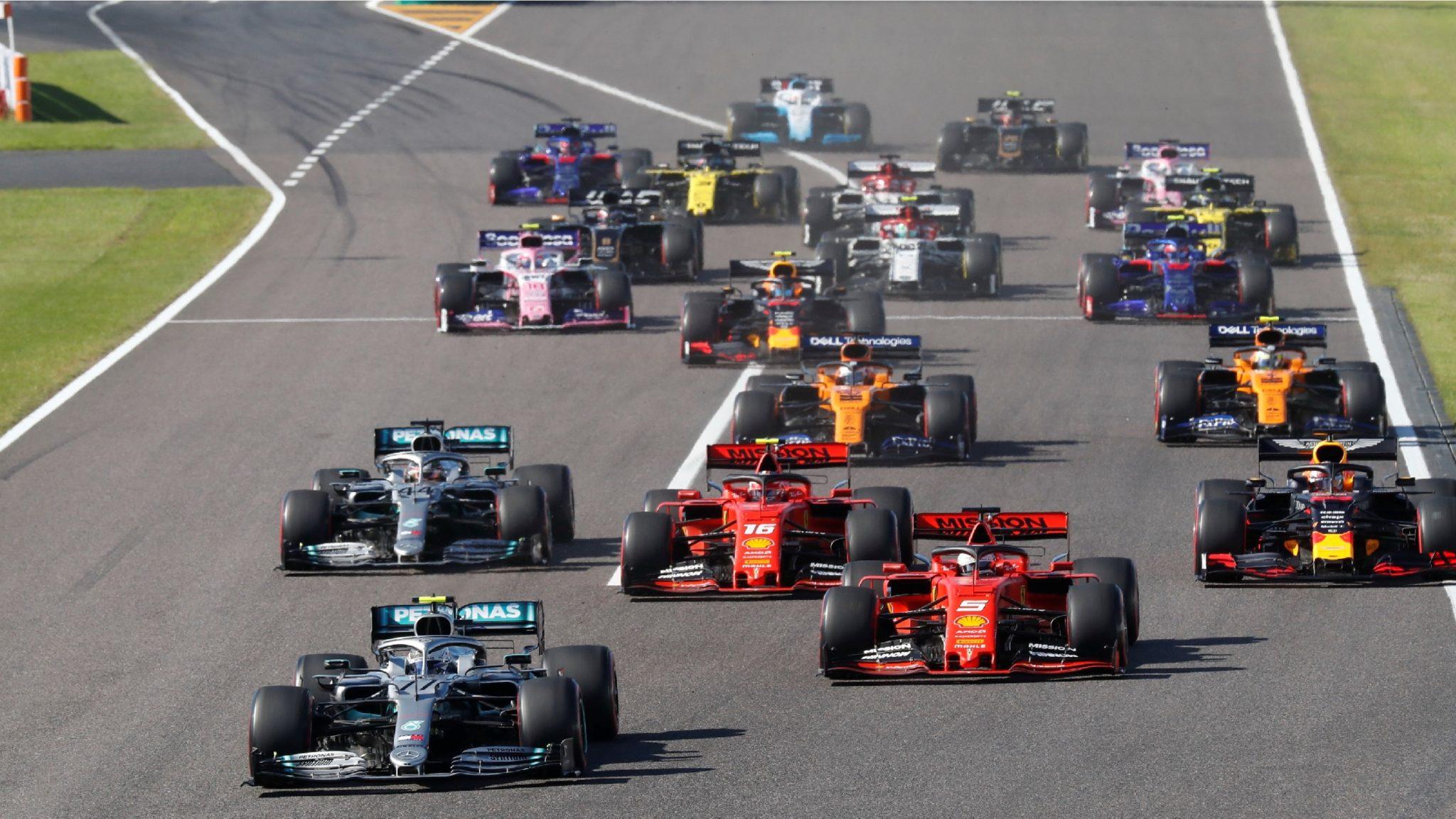 Bottas leidt GP van Japan 2019 voor de rest