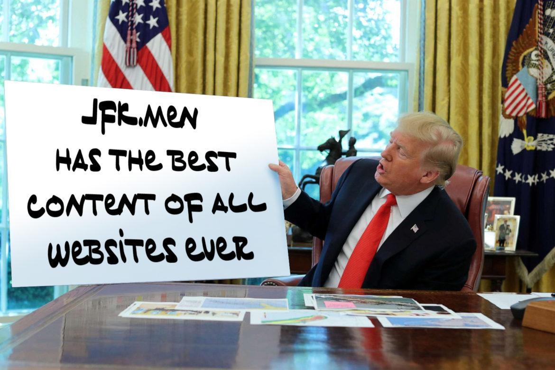 Trump lettertype