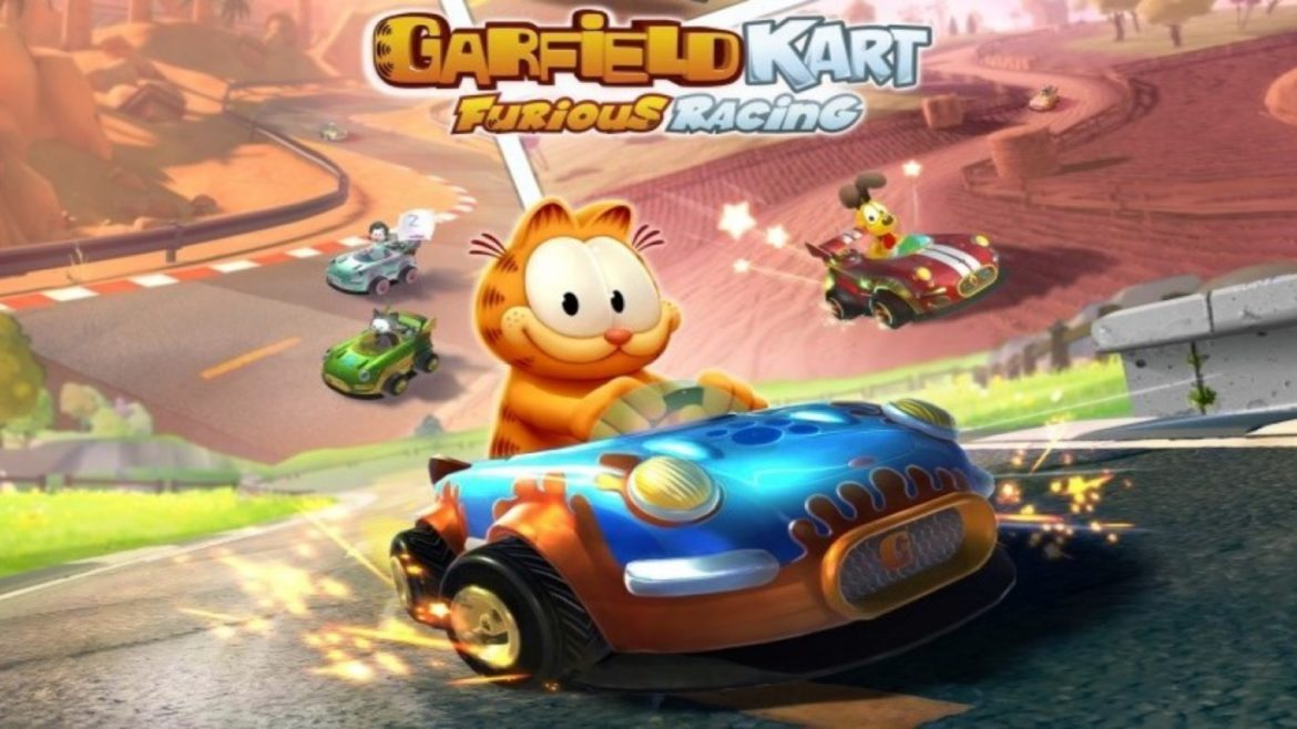 Garfield Karting: Furious Racing banner