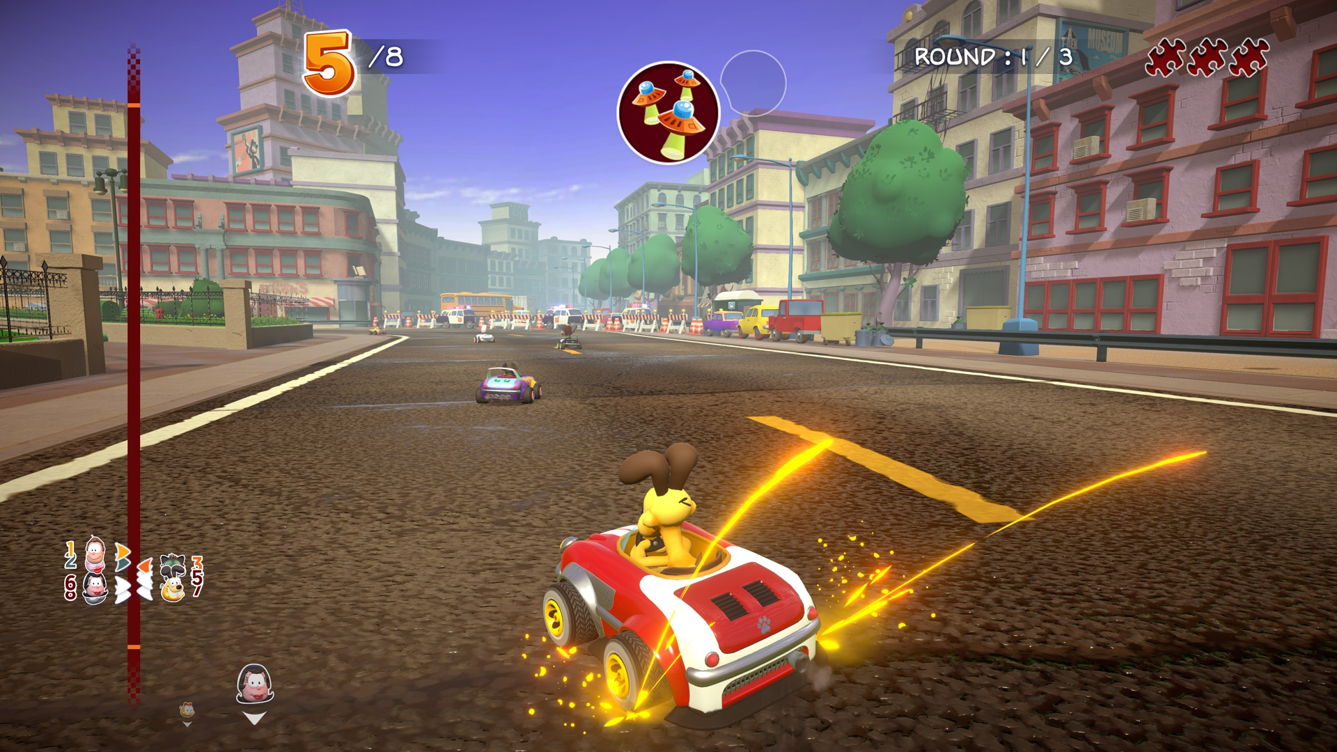 Garfield Karting: Furious Racing screenshot