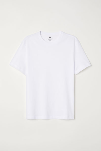 H&M wit t-shirt item