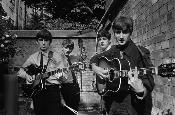 Terry O'Neill - The Beatles in a Backyard, London 1963 - Courtesy Eduard Planting Gallery