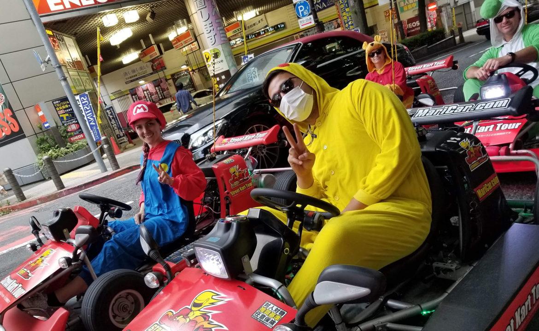 Mario Kart Tokio