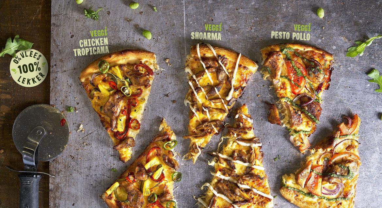 Pizza vleesvervangers
