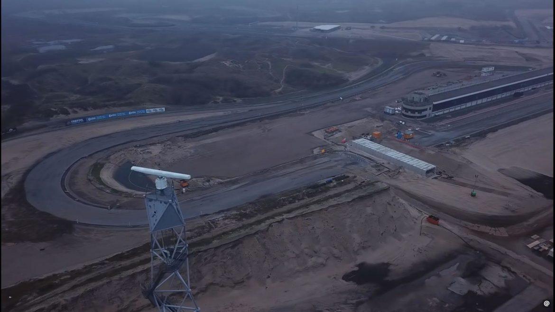 Circuit van Zandvoort - verbouwing januari 2020