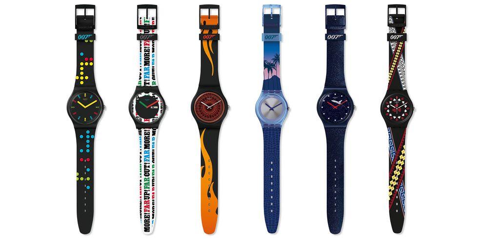 Swatch x Bond horloges