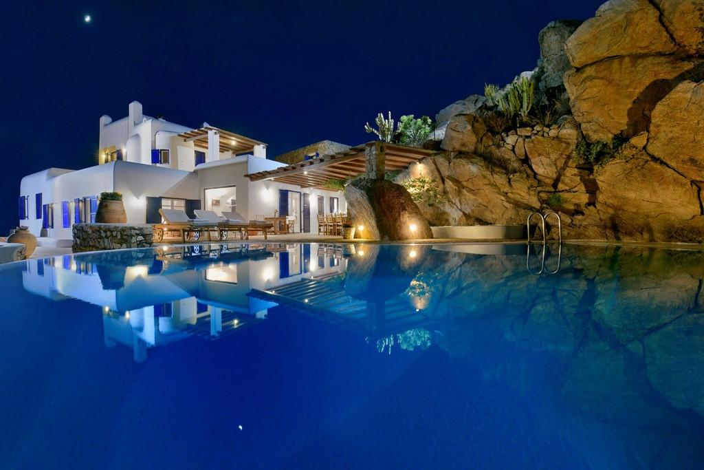 Griekse vakantievilla Mikonos