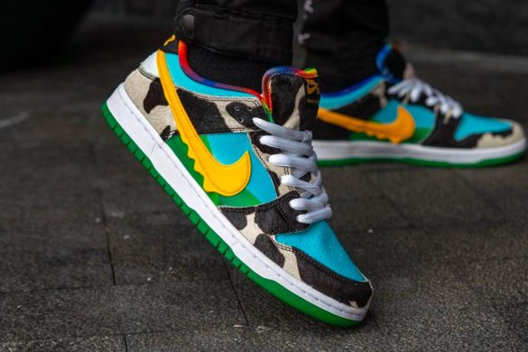 3D sneakers van Nike hebben een zeer opmerkelijke swoosh JFK