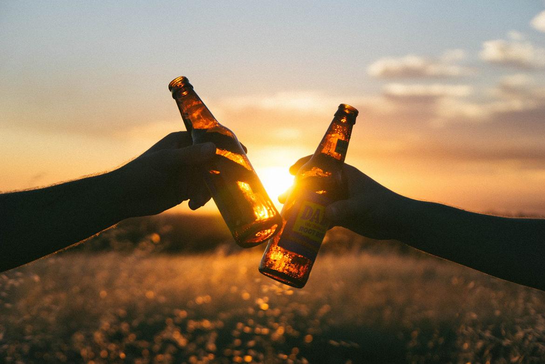 zomerse biertjes drinken