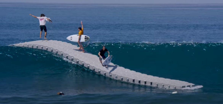 Drijvende steiger niet geschikt voor mensen die snel zeeziek worden