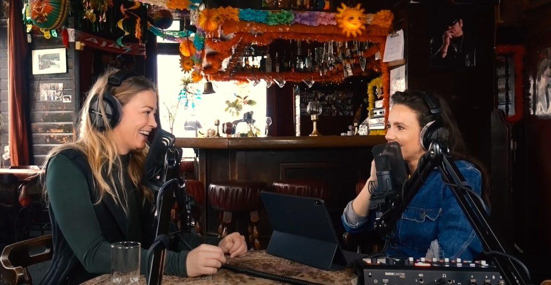 Gwen van Poorten maakt podcast met Geraldine Kemper