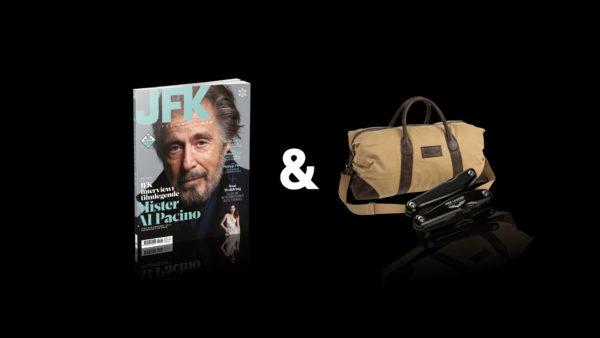 tweejaars abonnement jfk magazine pme legend tas