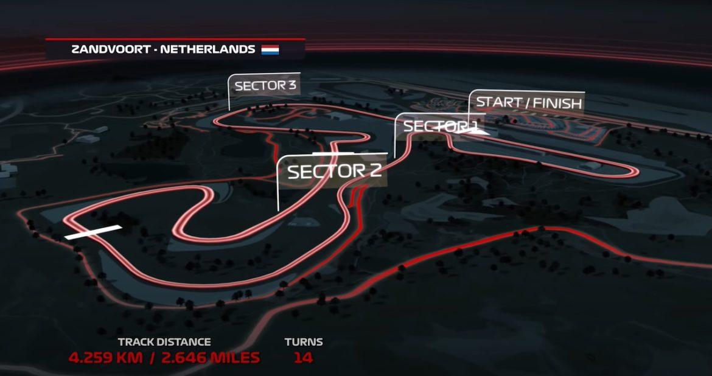 Eerste beelden van Zandvoort in F1 2020