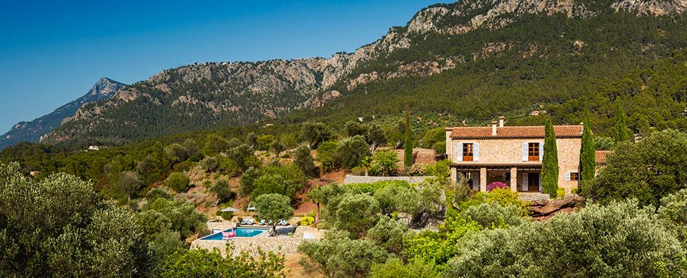 Son Bunyula is 'n luxe vakantievilla op Mallorca