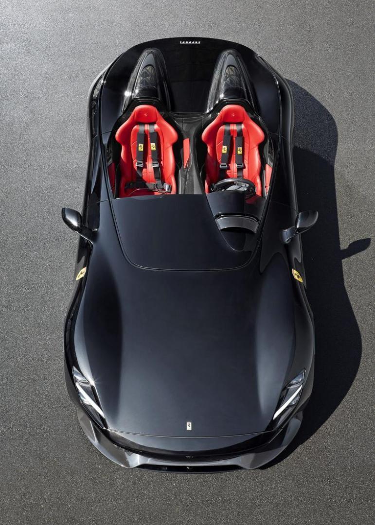 Nieuwe auto Max Verstappen is Ferrari Monza SP2
