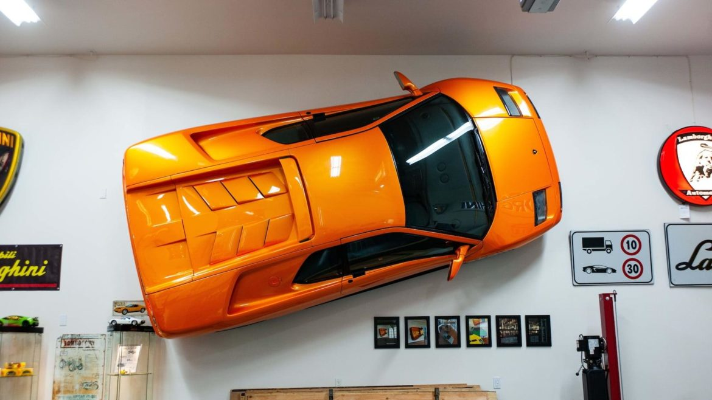 Lamborghini Diablo VT om aan de muur te hangen