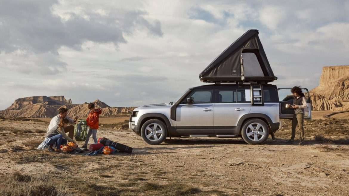 Daktent Land Rover Defender