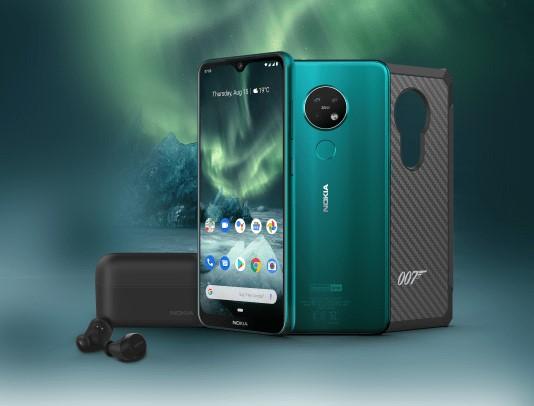 Exclusieve Nokia 7.2 James Bond-uitvoering