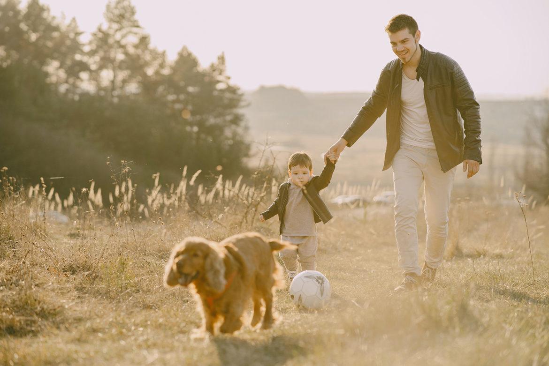 Zo draag je stijlvol vader-kindkleding