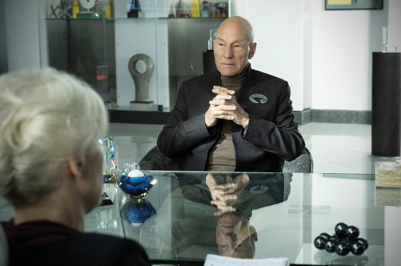 Patrick Stewart over Picard