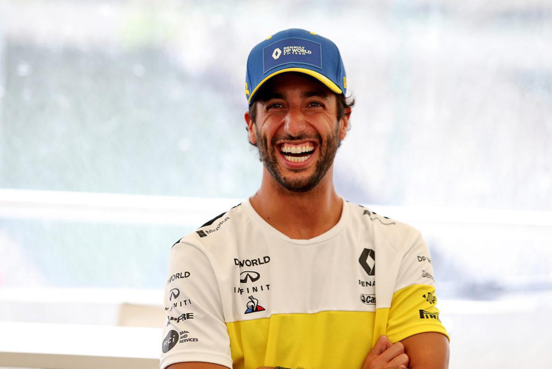 Dit doet Daniel Ricciardo tussen de races door