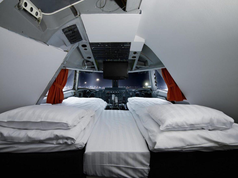 JumboStay Vliegtuighotel in Stockholm