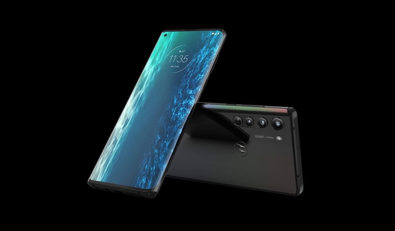Motorola Edge Solar Black