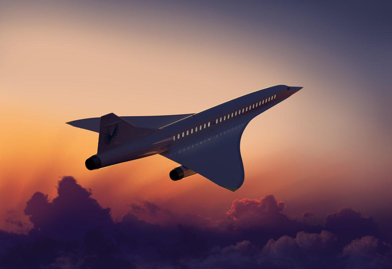 Supersonisch vliegtuig maakt comeback