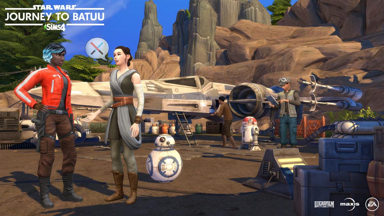 The Sims 4 Star Wars: Journey to Batuu