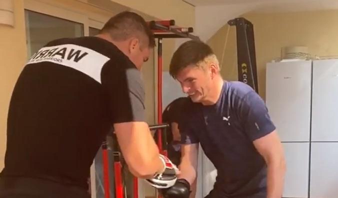 Max Verstappen en Rico Verhoeven trainen in Monaco