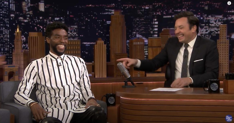 Chadwick Boseman vertelt over eerste Marvel-auditie aan Jimmy Fallon