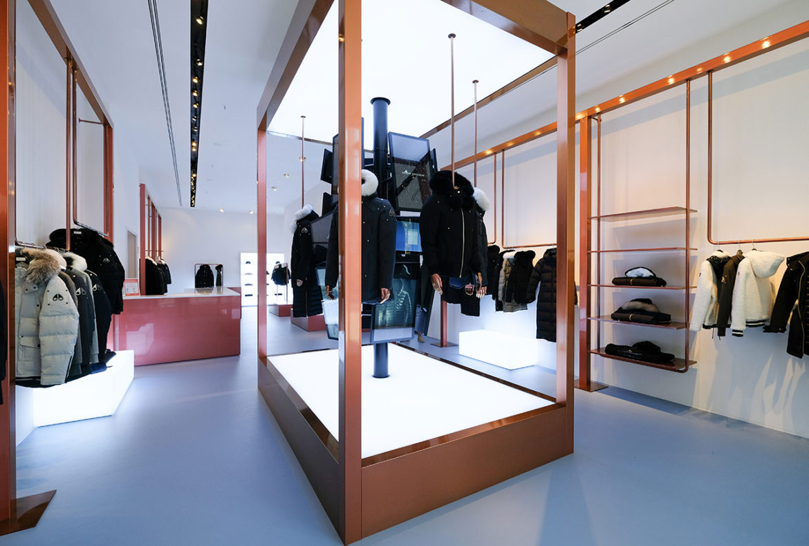 Moose Knuckles opent pop-up store in Amsterdam