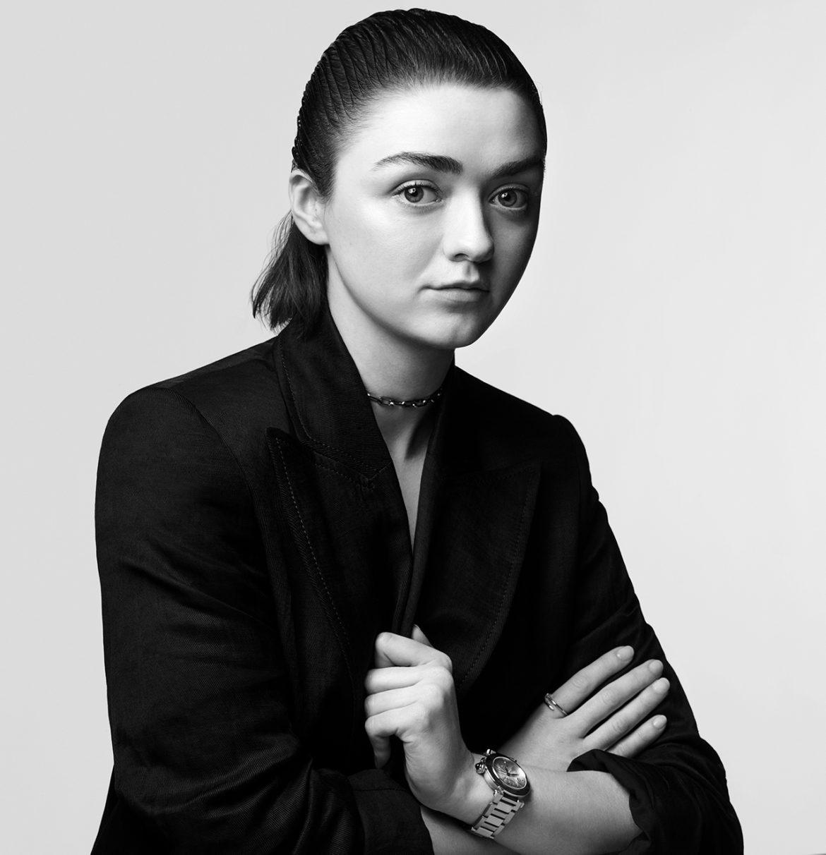 Pasha de Cartier - Maisie Williams