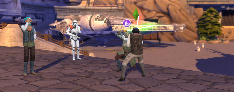 Sims 4 Star Wars Journey to Batuu