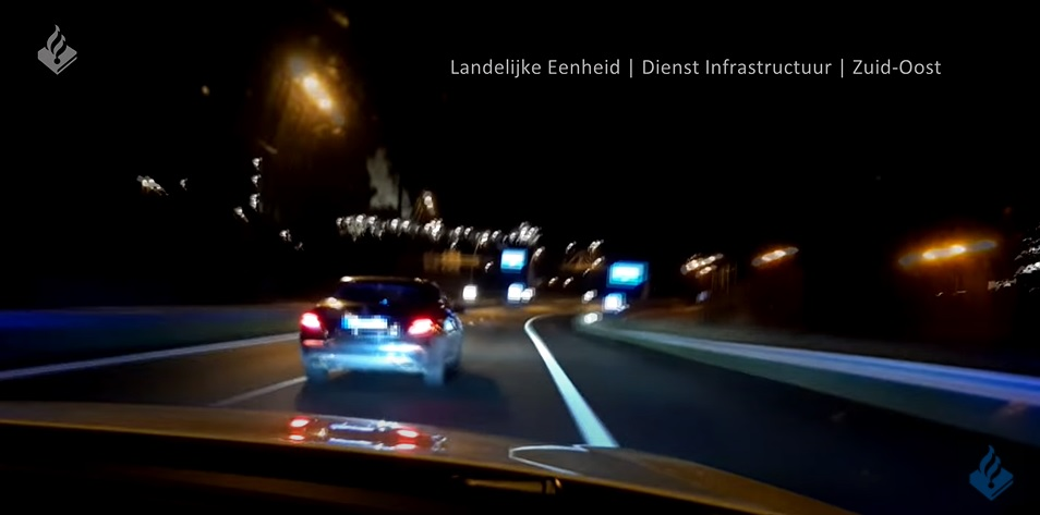 Politieachtervolging met hoge snelheid INFRA Limburg