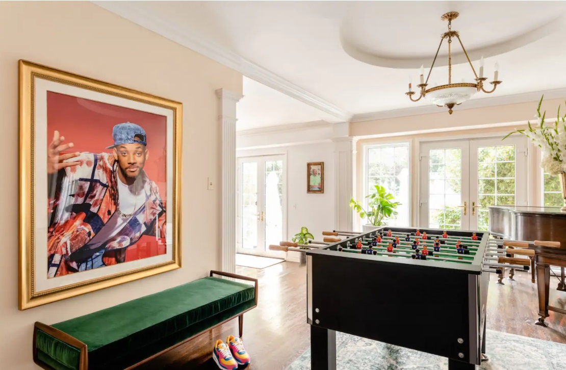 Will Smith zet The Fresh Prince of Bel-Air villa te huur op Airbnb