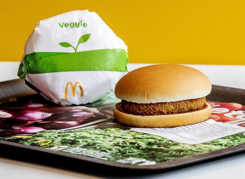 McDonald's introduceert de Veggie McKroket