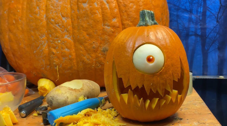 Halloween pompoen uitsnijden is makkelijker dan je denkt