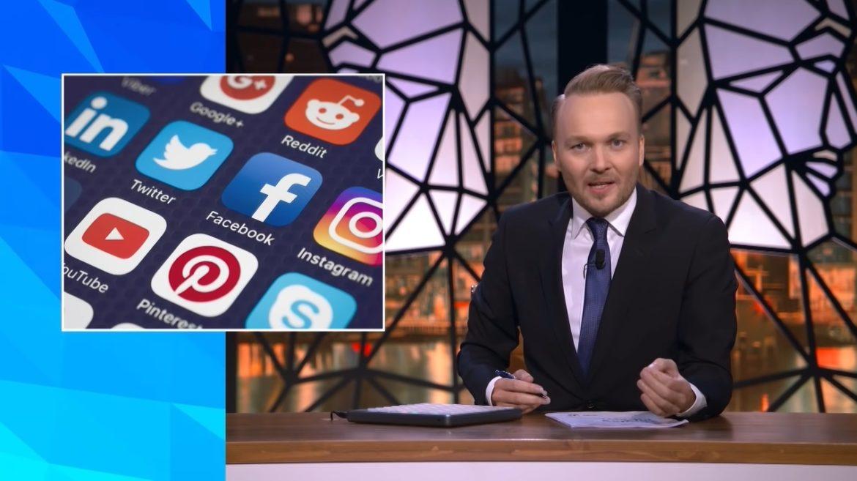 Zondag Met Lubach geeft social media schuld van complotdenkers
